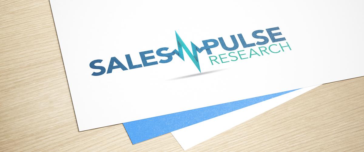SalesPulse Research logo by Kristina Ackerman