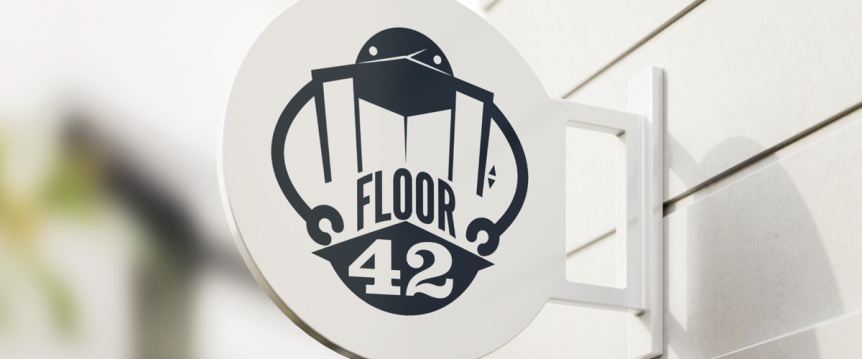 Floor42 logo by Kristina Ackerman