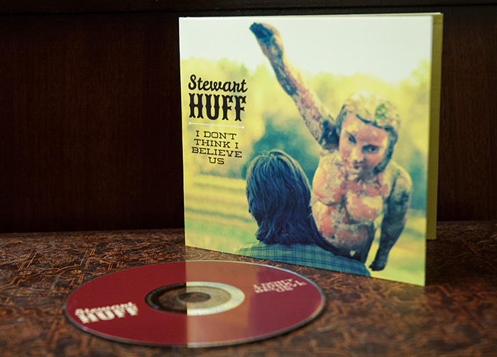 Stewart Huff CD design