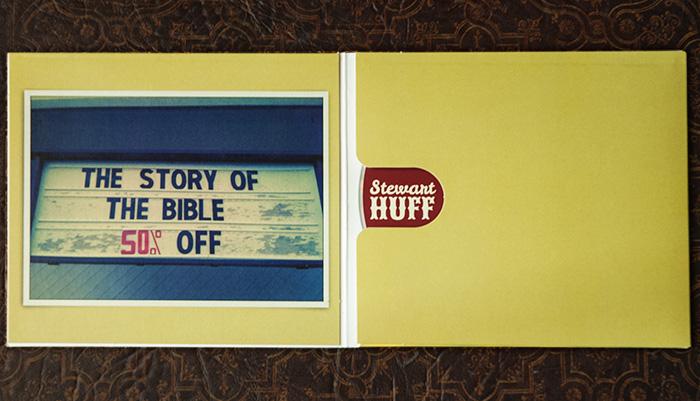 Stewart Huff CD design